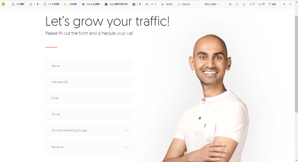 Add an Easy Bold Call to Action on Your Homepage 1