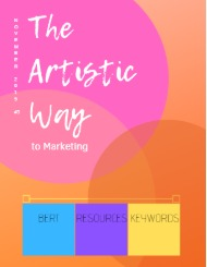 The Artistic Way to Marketing Magazine
