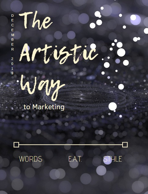December 2019 The Artistic Way to Marketing