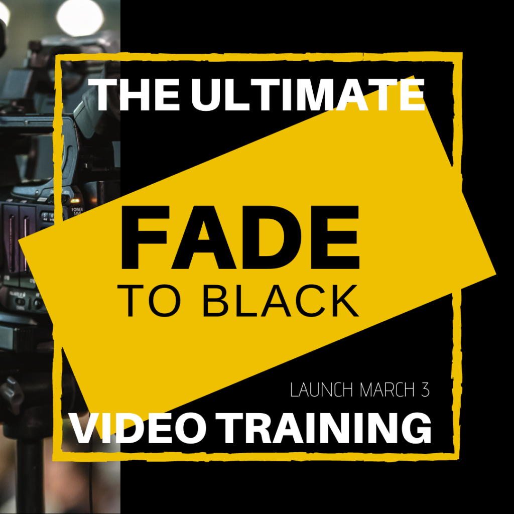 Fade to Black Video Creation